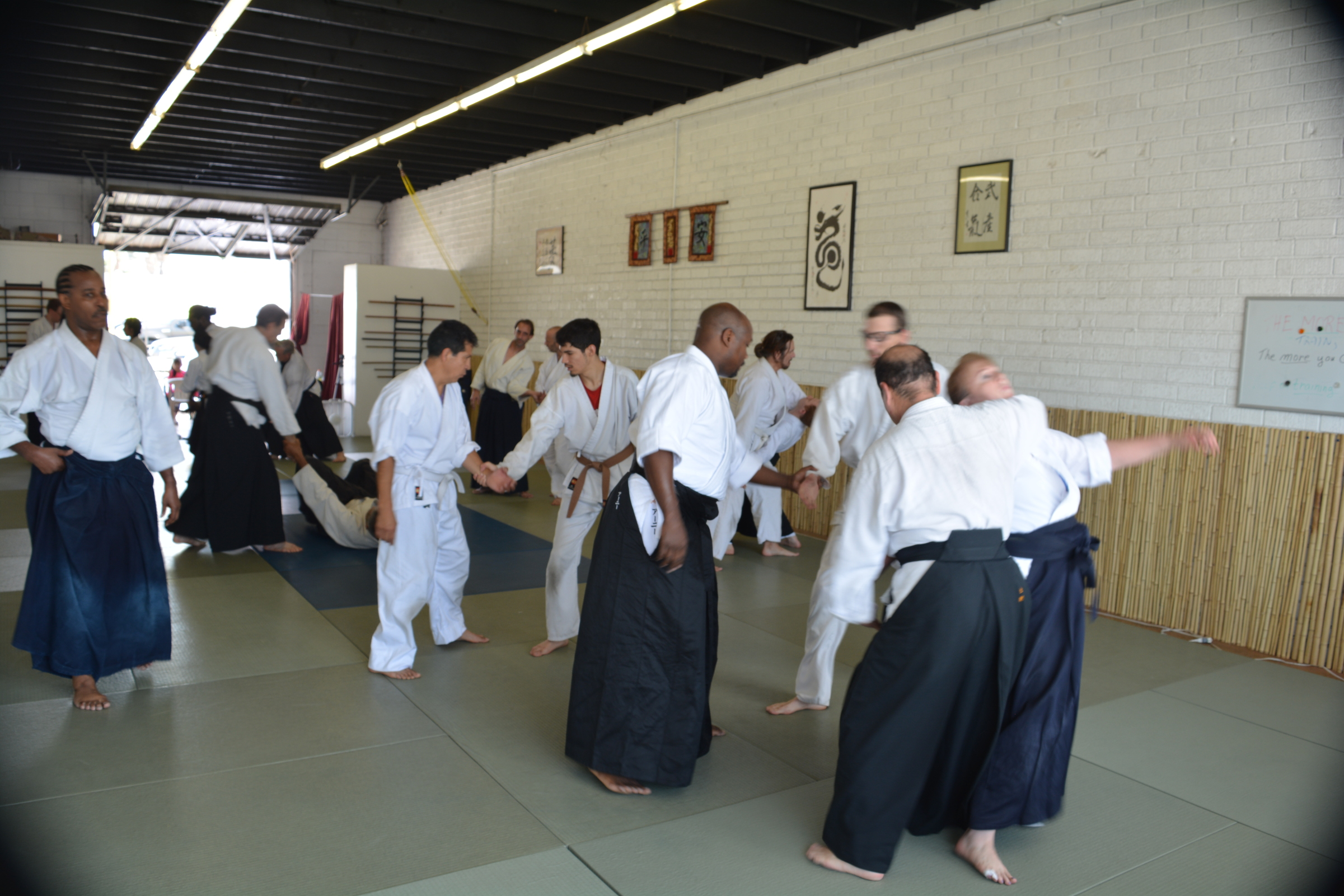 Waite teaches seminar 2